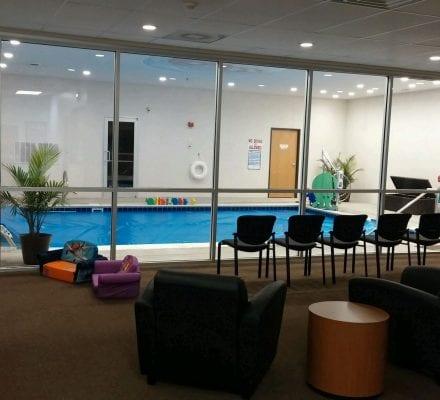 We have an ultra violet pool filtration system!  Come visit us!
