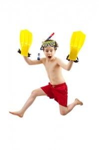 Snorkel Crazy Boy
