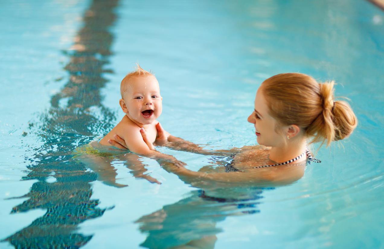 Just keep swimming swim otters swim fitness school Valentine pool swimming lessons